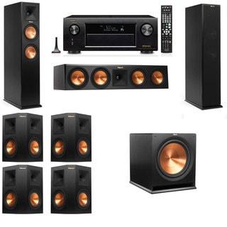 Klipsch RP-260F -7.1-Denon AVR-X4100W Tower Speakers