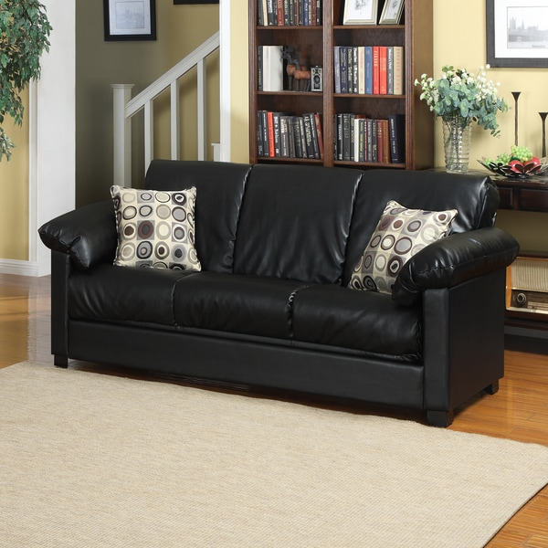 Better Living Black Renu Convert-a-Couch Sofa Sleeper