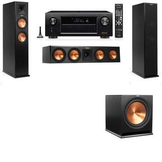 Klipsch RP-260F -3.1-Denon AVR-X4100W Tower Speakers
