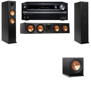 Klipsch RP-260F -R112SW-3.1-Onkyo TX-NR838 Tower Speakers