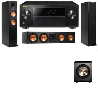 Klipsch RP-260F -RP-450C-PL-200-3.1-Pioneer Elite SC-85 Tower Speakers