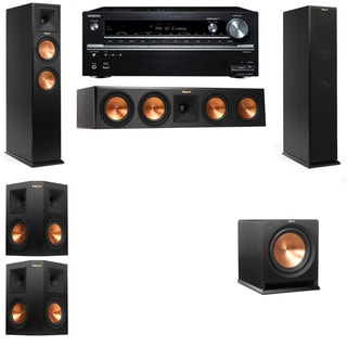 Klipsch RP-260F -R112SW-5.1-Onkyo TX-NR838 Tower Speakers