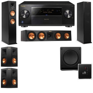 Klipsch RP-260F -RP-450C-SW-112-5.1-Pioneer Elite SC-85 Tower Speakers