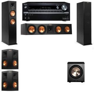Klipsch RP-260F -PL-200-5.1-Onkyo TX-NR838 Tower Speakers