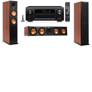 Klipsch RP-260F CH-3.0-Denon AVR-X4100W Tower Speakers