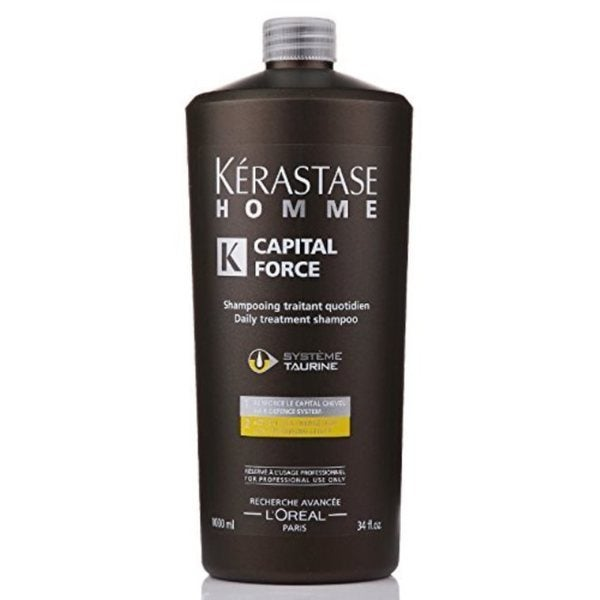 Kerastase 33.8-ounce Homme Bain Capital-Force Densifying