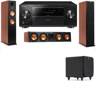 Klipsch RP-260F CH-RP-450C-SDS12-3.1-Pioneer Elite SC-85 Tower Speakers