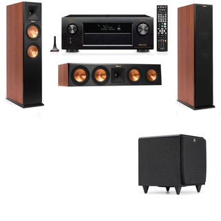 Klipsch RP-260F CH-SDS12-3.1-Denon AVR-X4100W Tower Speakers