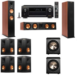 Klipsch RP-260F CH-PL-200-7.2-Denon AVR-X4100W Tower Speakers