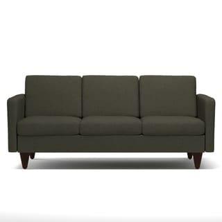 Portfolio Luca Basil Grey Linen SoFast Sofa