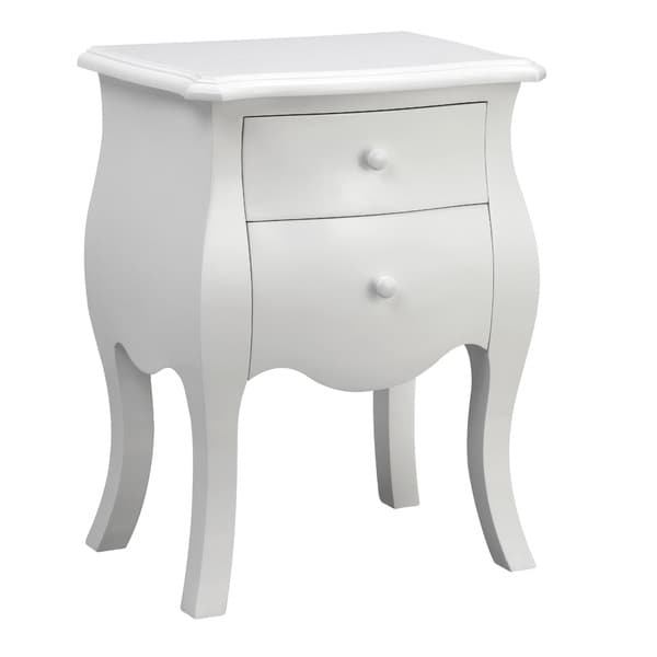 Fosse White Wooden Chest
