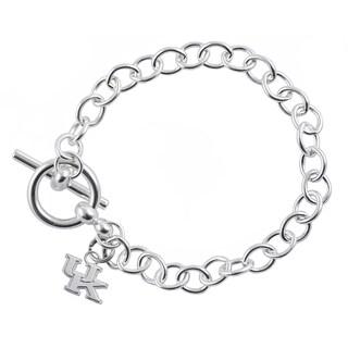 Kentucky Sterling Silver Link Bracelet