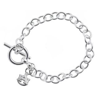 Auburn Sterling Silver Link Bracelet