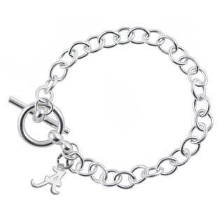 Alabama Sterling Silver Link Bracelet