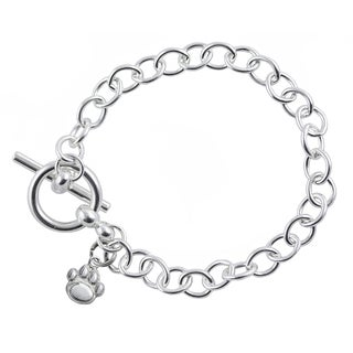 Penn State Sterling Silver Link Bracelet