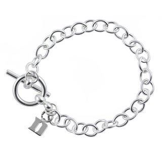 Duke Sterling Silver Link Bracelet