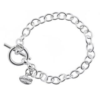Florida Sterling Silver Link Bracelet