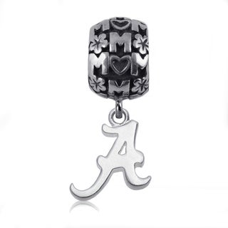 Alabama Sterling Silver Mom Charm Bead