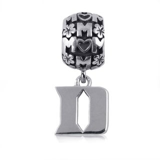Duke Sterling Silver Mom Charm Bead