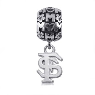 Florida State Sterling Silver Mom Charm Bead