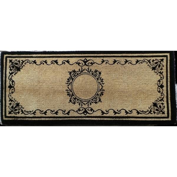 Elegant Coco Fibre Extra Thick Double Doormat