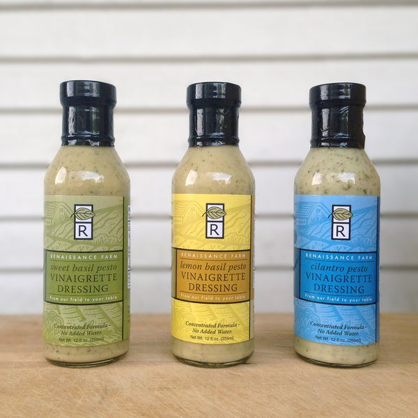 Wisconsin Food Hub Pesto Vinaigrette (Pack of 4)