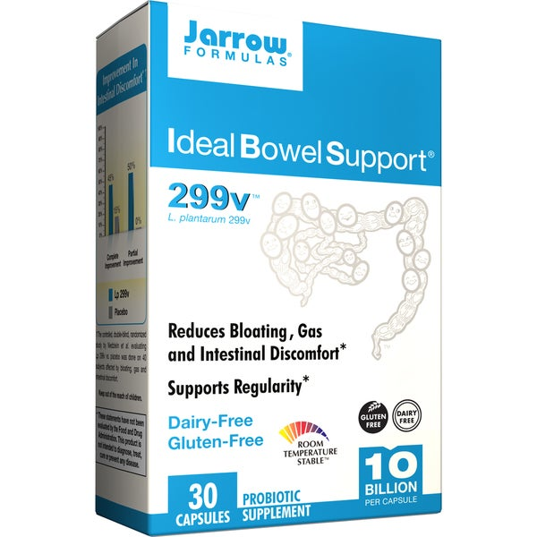 Jarrow Formulas Ideal Bowel Support (30 Capsules)