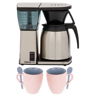 Cuisinart Coffee Maker Thermal Carafe Problems : Capresso MT900 10-Cup Rapid Brew Coffee Maker + Thermal Carafe - 18908783 - Overstock.com ...