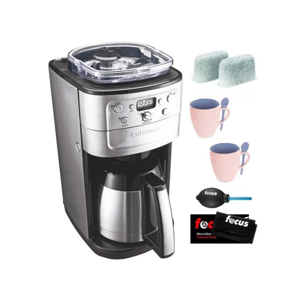 Coffee maker with grinder and thermal carafe - Cuisinart Dgb 900bc Grind Amp Brew Thermal 12 Cup Automatic Coffeemaker
