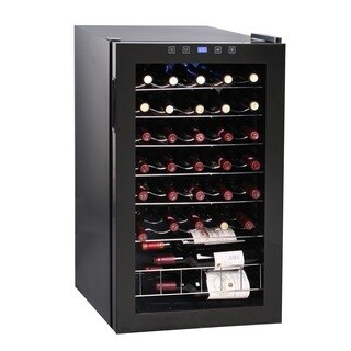 34 Bottle Touch Screen Wine Cooler