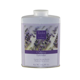 Taylor Of London Lavender 7-ounce Luxury Talcum Powder