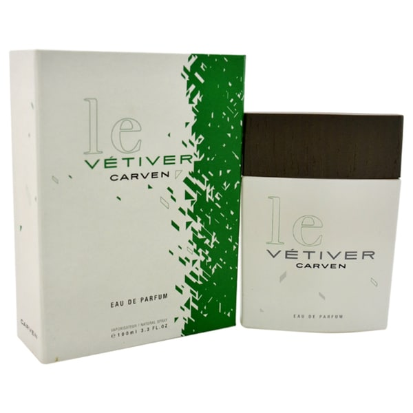 Le Vetiver Carven Men's 3.3-ounce Eau de Parfum Spray