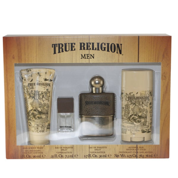True Religion Men's 4-piece Gift Set