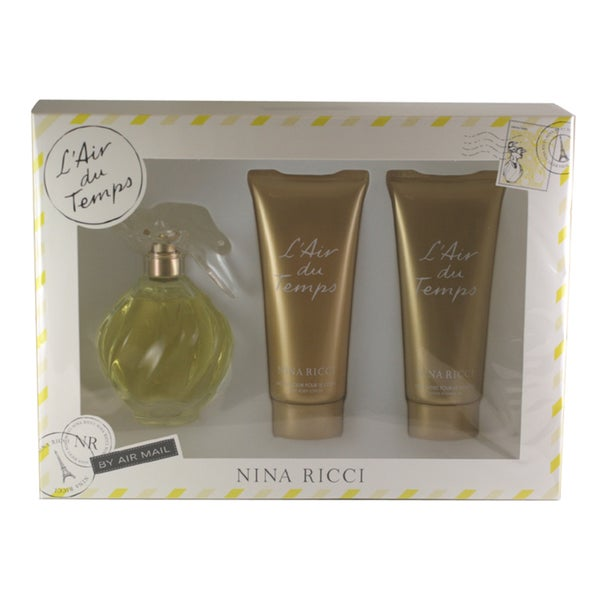 Nina Ricci L'Air Du Temps Women's 3-piece Gift Set