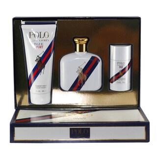 Ralph Lauren Polo Blue Sport Men's 3-piece Gift Set