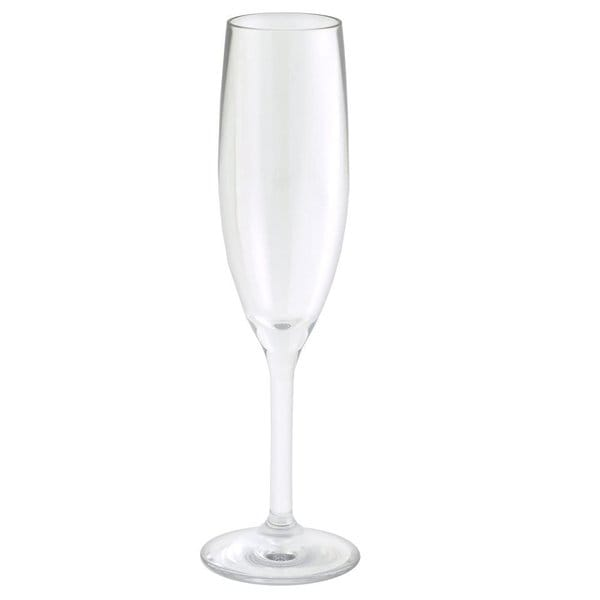 Strahl Elegant Strength Champagne Flute Unbreakable Glasses (Set of 4)