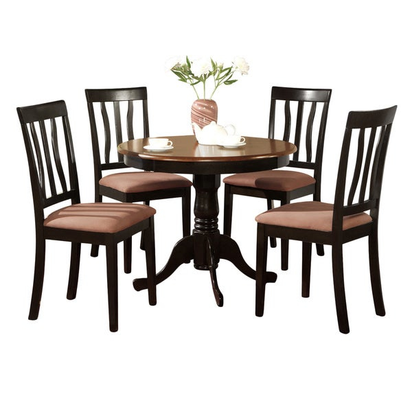 5-Piece Kitchen Table Set and 4 Kitchen Dining Chairs