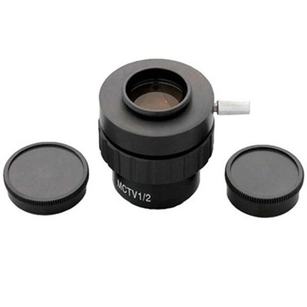 0.5X C-mount Lens Adapter for Microscope Video Cameras
