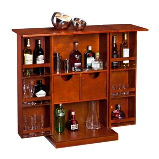 Wyatt Fold Away Bar in Harvest Brown