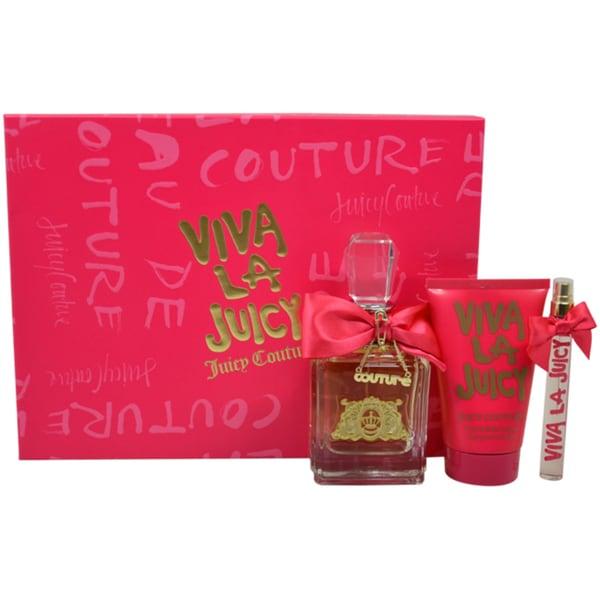 Juicy Couture Viva La Juicy Women's 3-piece Gift Set