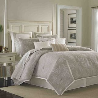 Laura Ashley Bracken Leaf 4-piece Comforter Set