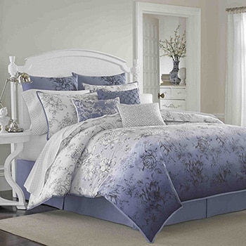 Laura Ashley Delphine 4-piece Comforter Set