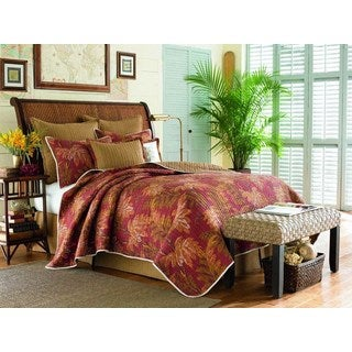 Tommy Bahama Orange Cay Quilt