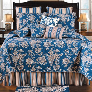 Birkdale Blue Oversized Quilt (Shams not Included)