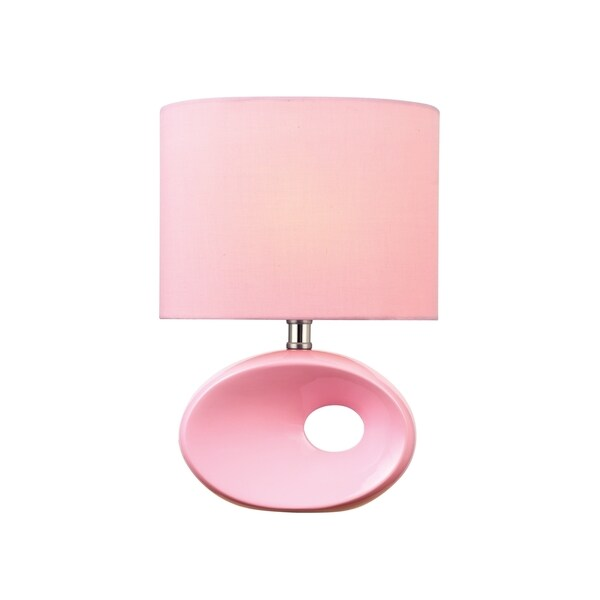 Lite Source Hennessy II Table Lamp, Pink 15494602