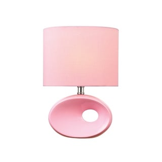 Lite Source Hennessy II Table Lamp, Pink