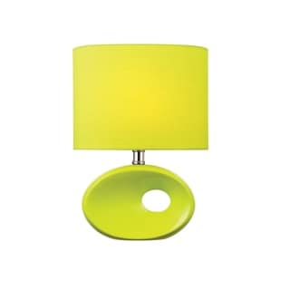 Lite Source Hennessy II Table Lamp,-light Green