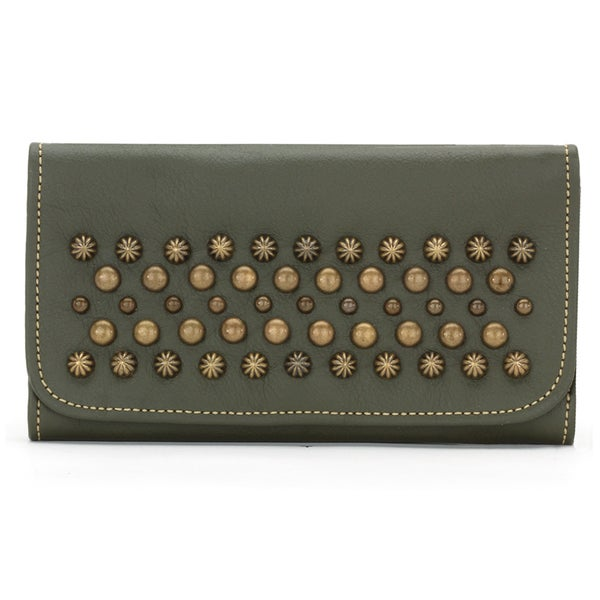 American West Olive Green Dixie Girl Wallet