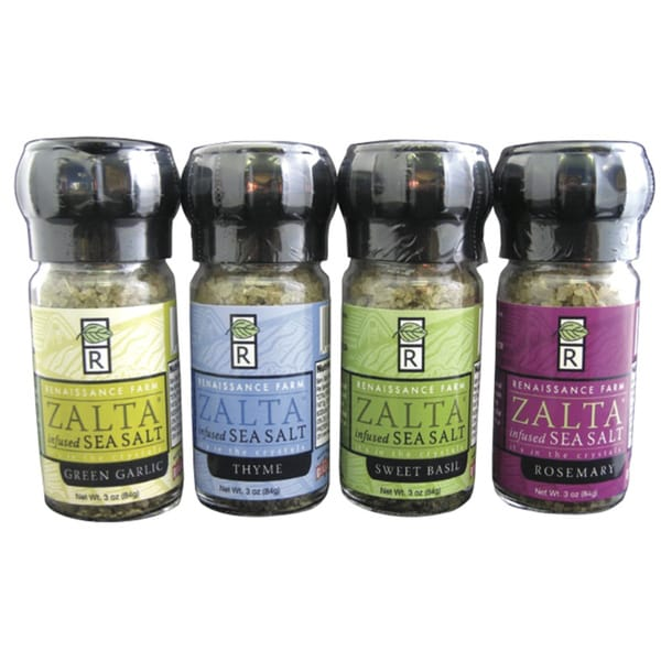 Wisconsin Food Hub Zalta Infused Sea Salt (Pack of 4)