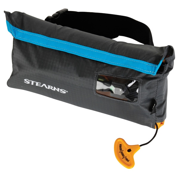 Stearns Grey/ blue Manual Inflatable Belt Pack